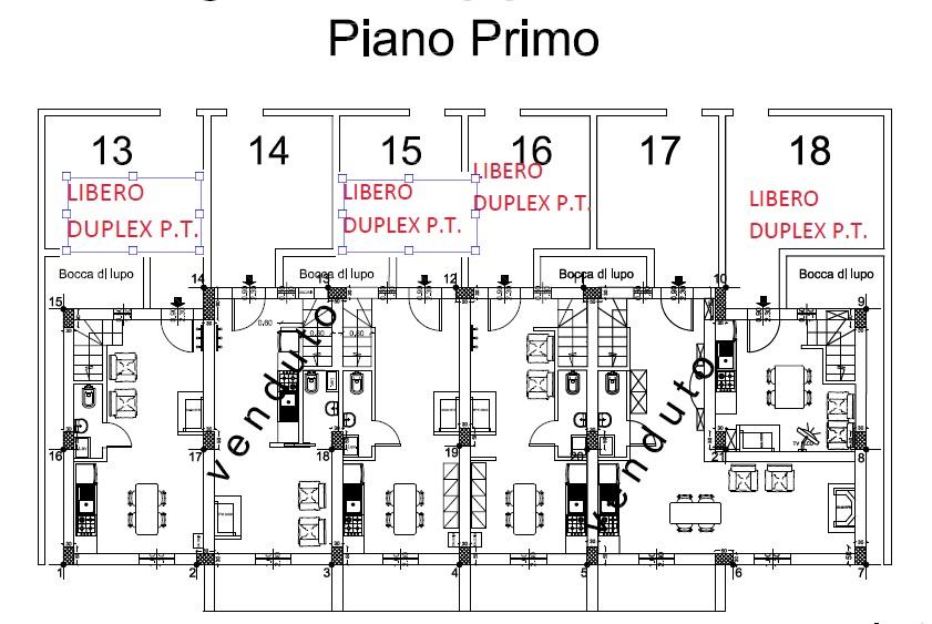 Piano Primo Fabbrica B