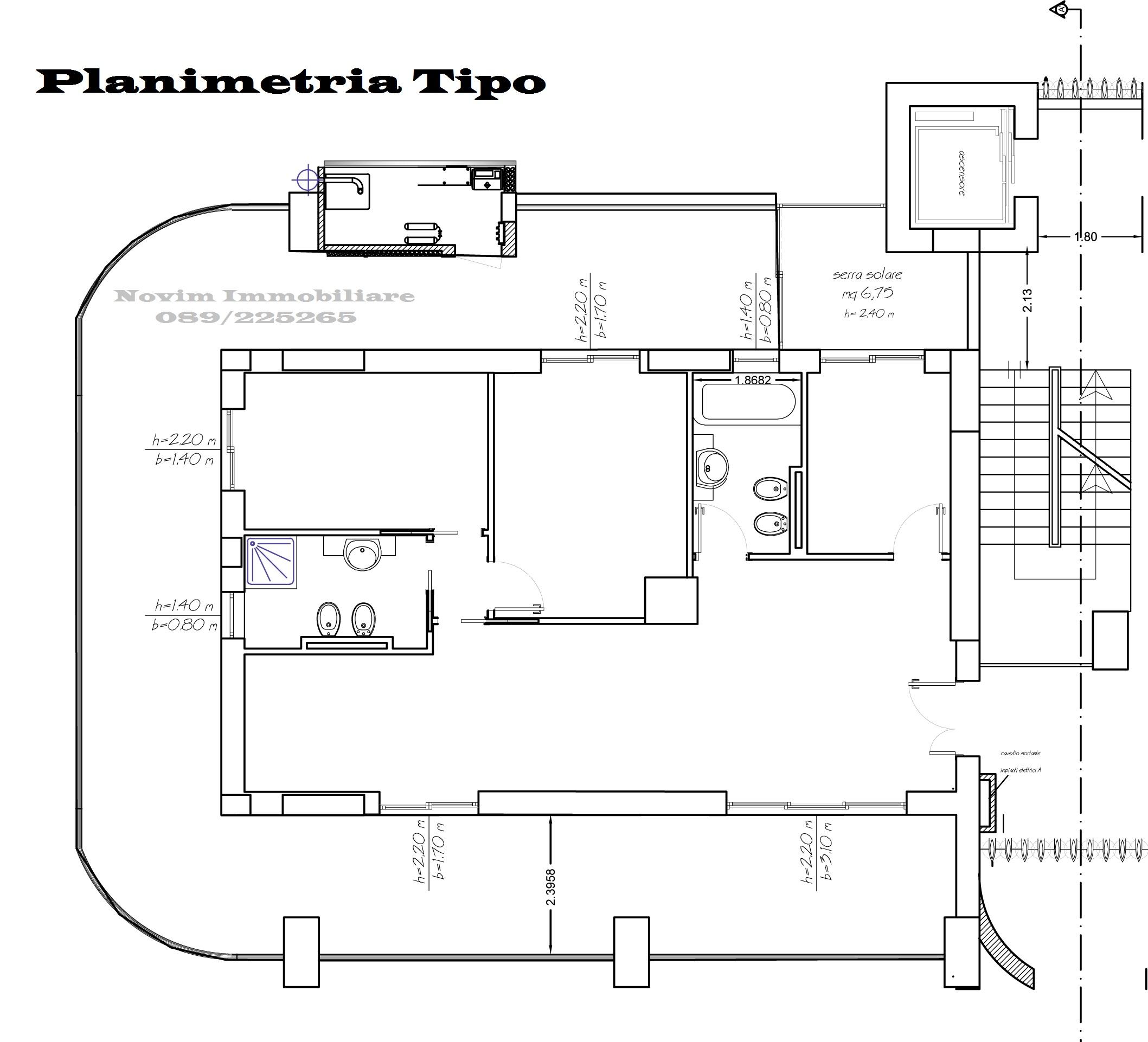 Planimetria Tipo